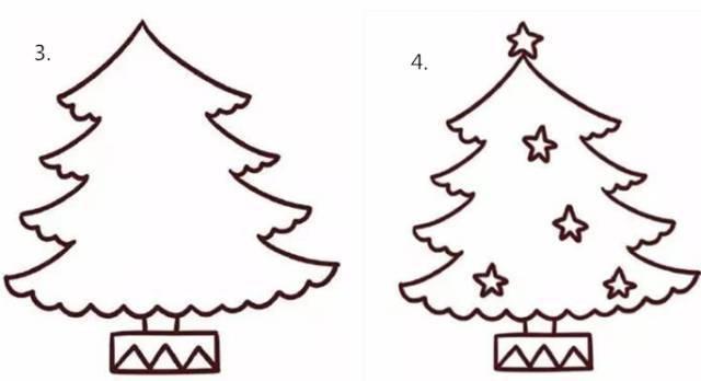 圣诞节快乐,一起来学画圣诞简笔画吧