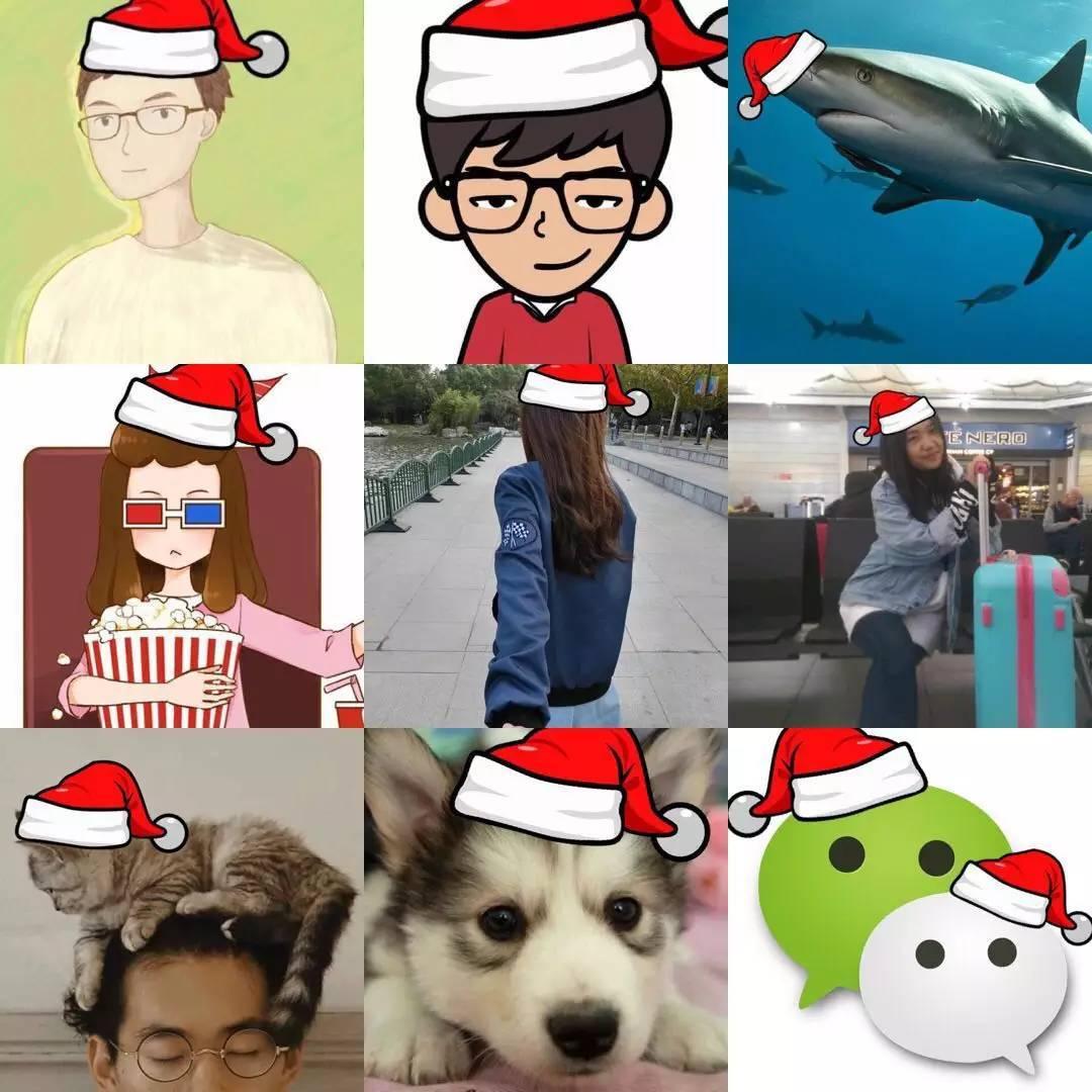 还在 微信官方 想要圣诞帽,点这个就行 绿帽子也有哦