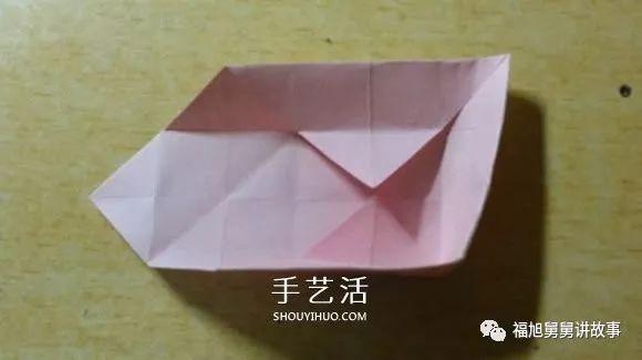 儿童手工折纸大全——镂空的纸花球