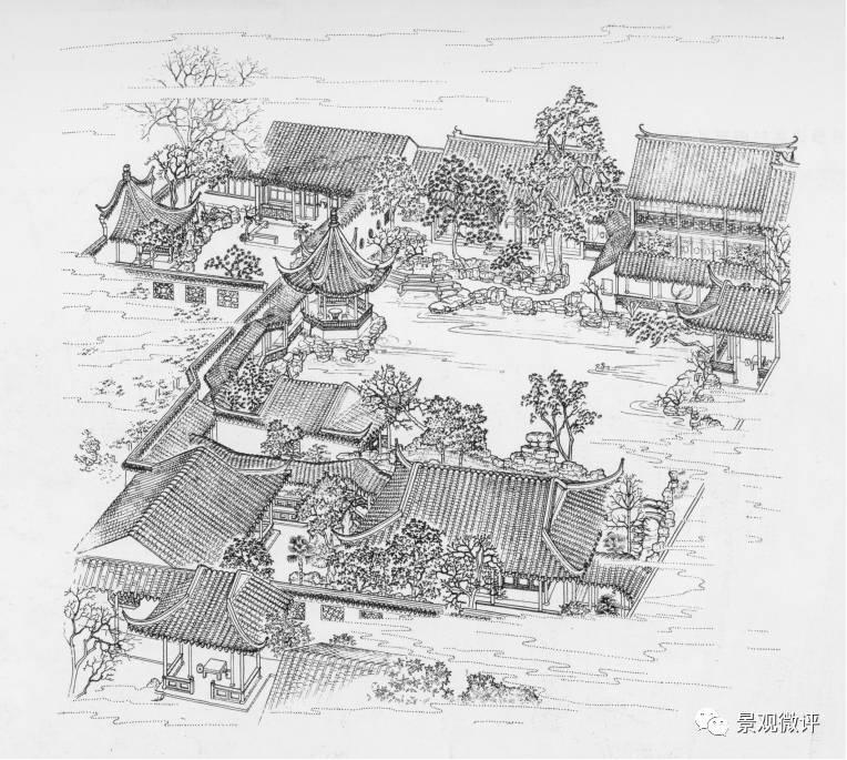 古典园林分析 | 网师园