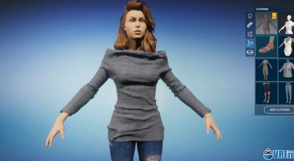 林登实验室Sansar新功能:让VR虚拟化身穿上时装