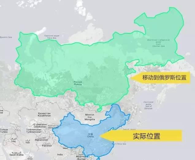 美食上把青岛移到俄罗斯的位置,惊呆了!台东中国路地图图片
