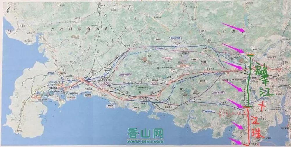 好消息 横琴 金湾要建两个高铁站 最新高铁规划图来了