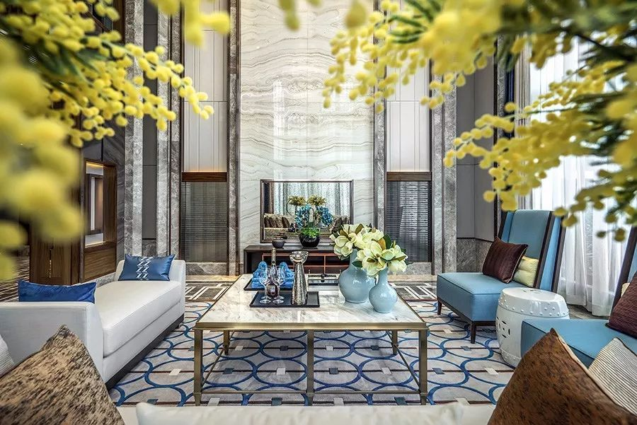 25个新中式豪宅客厅设计图片