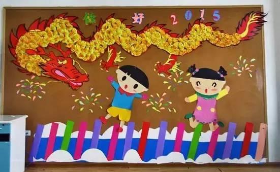 度过圣诞,迎接元旦,幼儿园元旦主题墙,吊饰参考