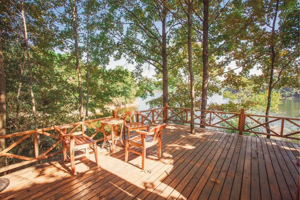 亮点二:入住林间小木屋