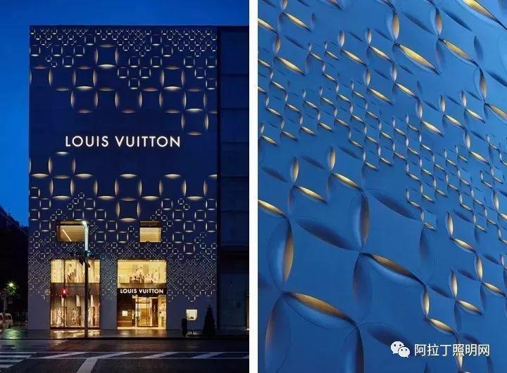 奢侈品lv最美建筑立面图片