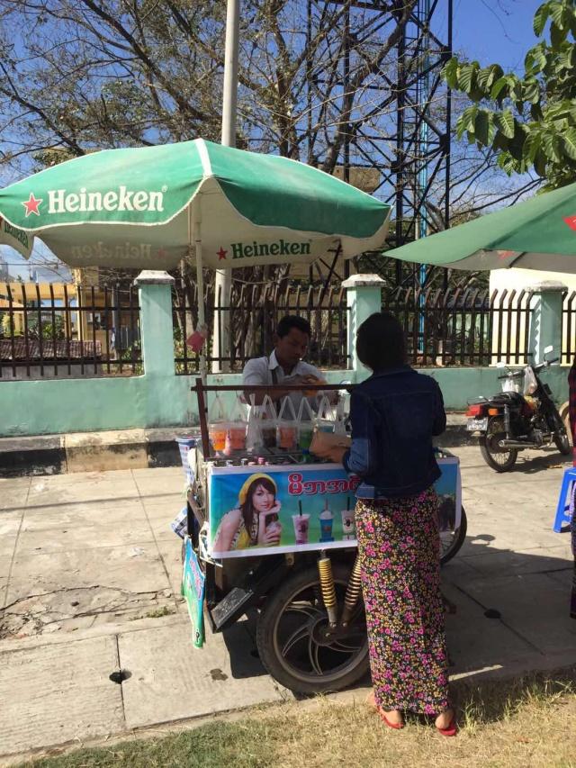 街边油炸小吃车_即将重启落地签的缅甸,2018年真的值得去旅行吗?