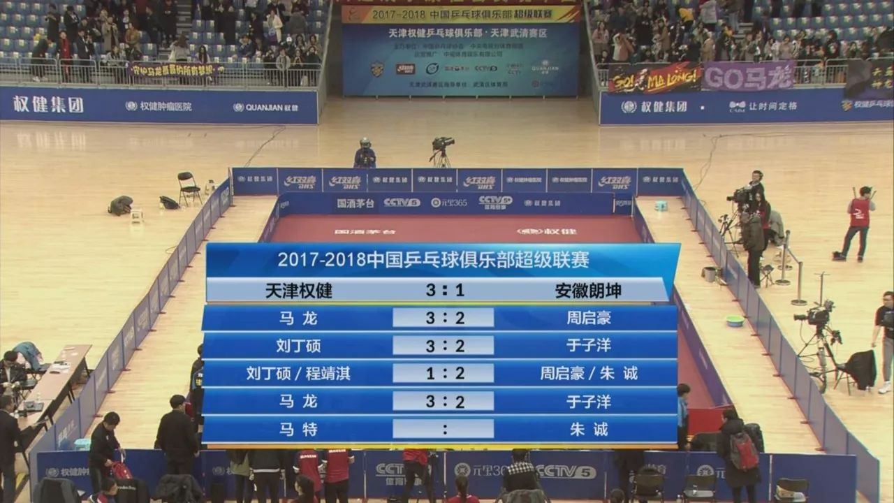 今晚,中国乒超联赛第 7 轮的比赛在武清体育馆打响,坐镇主场的天津