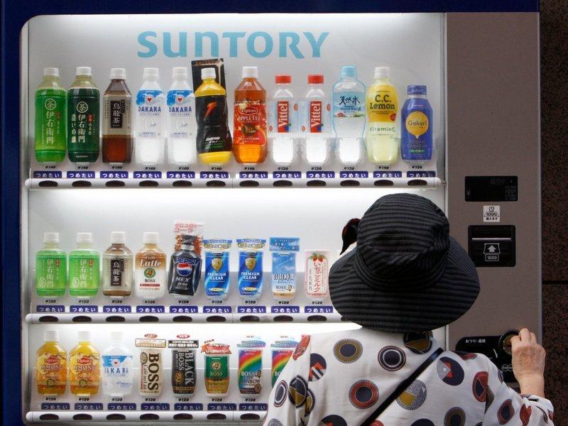 日本到处都是自动贩卖机,mt870软件这件事在中国