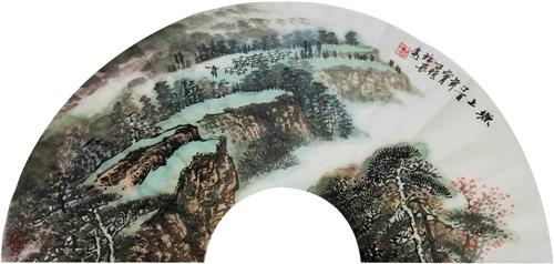 走进当代画家熊子恒的山水艺术