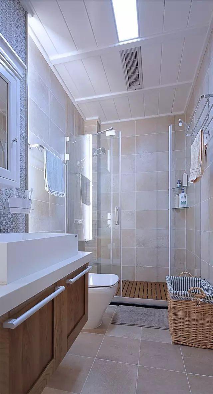 设计|除了铝扣板,卫生间吊顶还能怎么设计更漂亮?