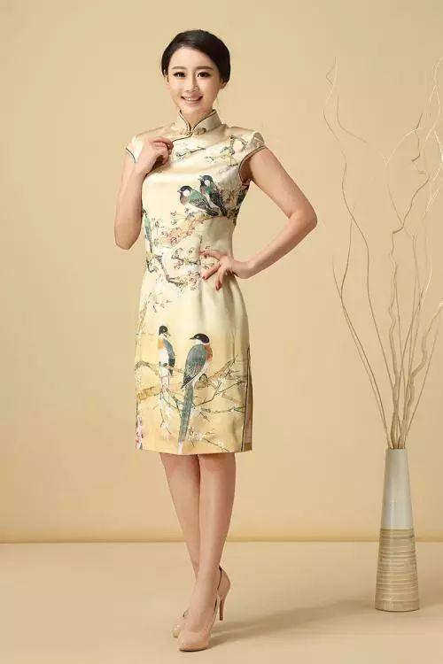 旗袍,用一生來遙望的風景!