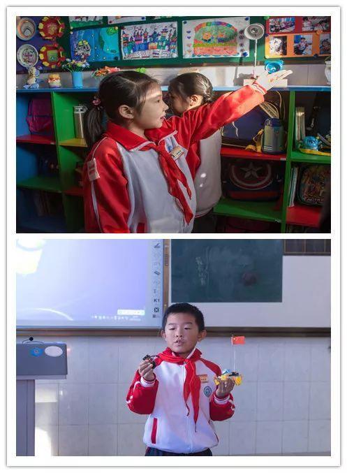 """""""红领巾小创客""""中队开展创意儿童画,小发现,小制作,小设计,小课题,小"""