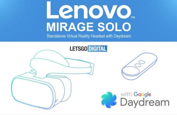 联想Daydream VR一体机或将在CES2018公布