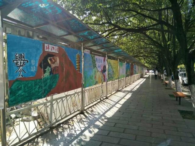 云南旅游文化展板比赛