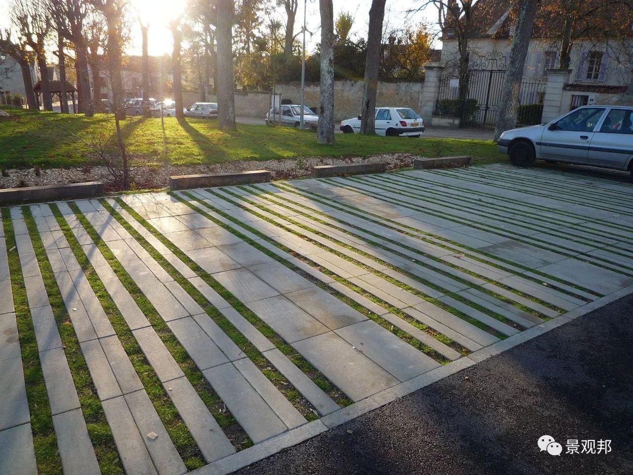 停车位还能这么设计,厉害啊!图片