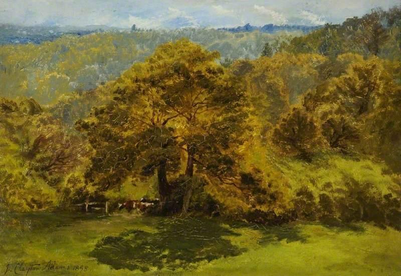 英国画家john clayton adams 风景油画作品欣赏(上)