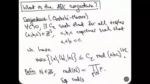 ABC's conjecture is really proven? Or is it a