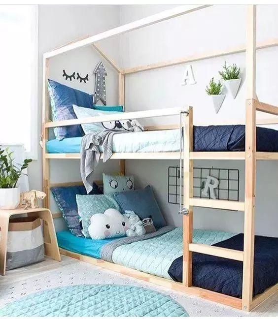 儿童房设计成上下床好不好?看完专家分析再做装修决定