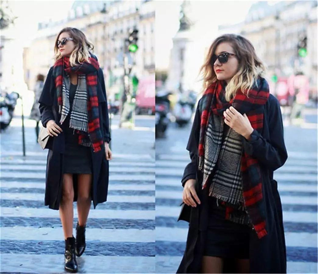 好美丽的披肩编织教程适合冬天行使学会它给自