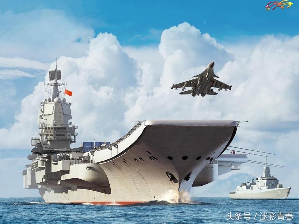 全通甲板 中国海军核动力航母编队最新cg照曝光