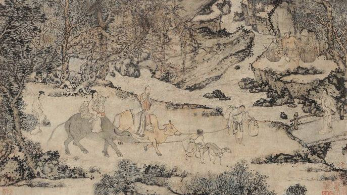 中国最贵十幅画排行榜图片