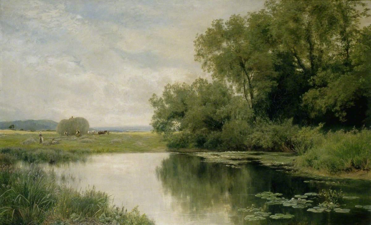 英国画家john clayton adams 风景油画作品欣赏(下)