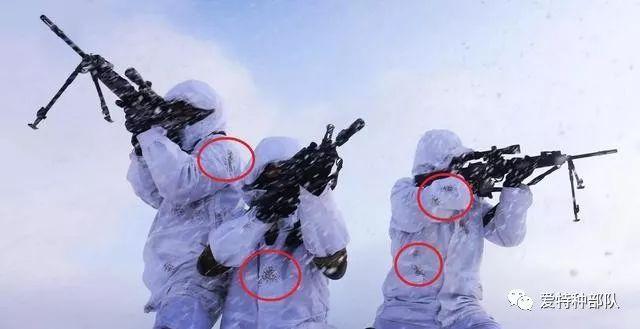 """""""蛟龍""""隊員身穿雪地迷彩.圖片"""