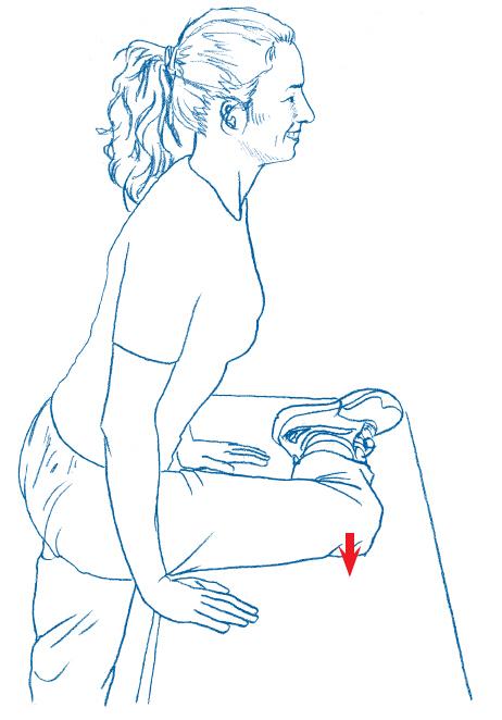 5个简单动作,缓解跑步膝疼痛