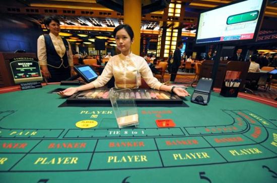上图是澳门赌场的招牌,澳门比较有名的赌场有葡京赌场,永利赌场.