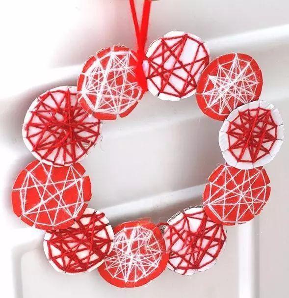5分钟学会30个幼儿园元旦手工吊饰创意,实用又美观!