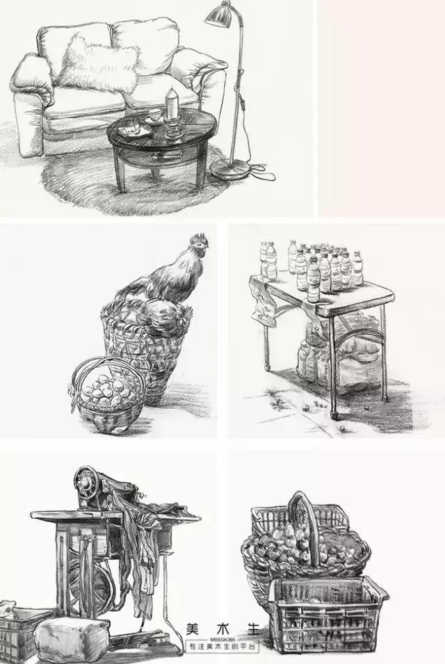 家具速写简单手绘