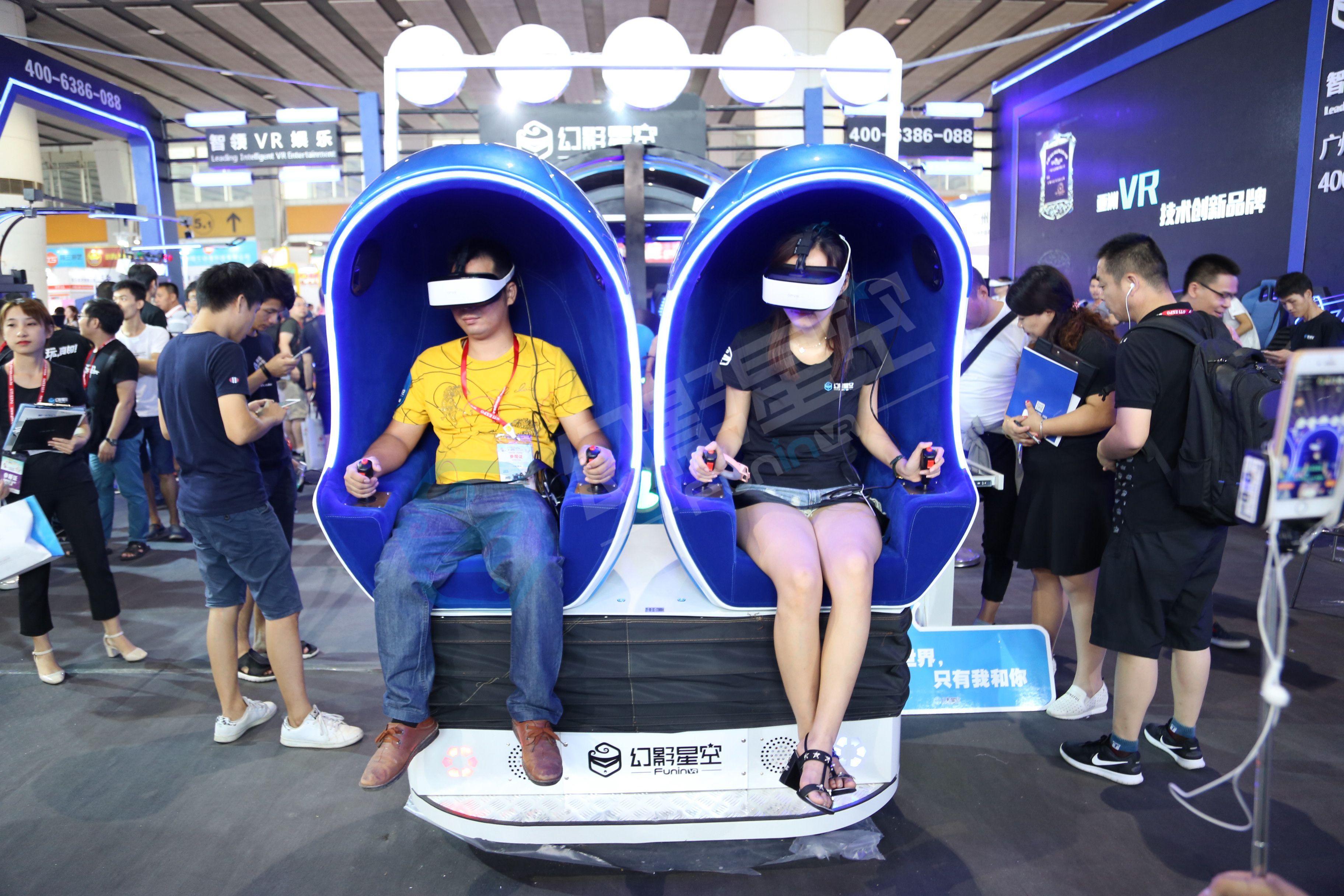 VR虚拟现实游戏体验馆通过VR体验欧美的风情