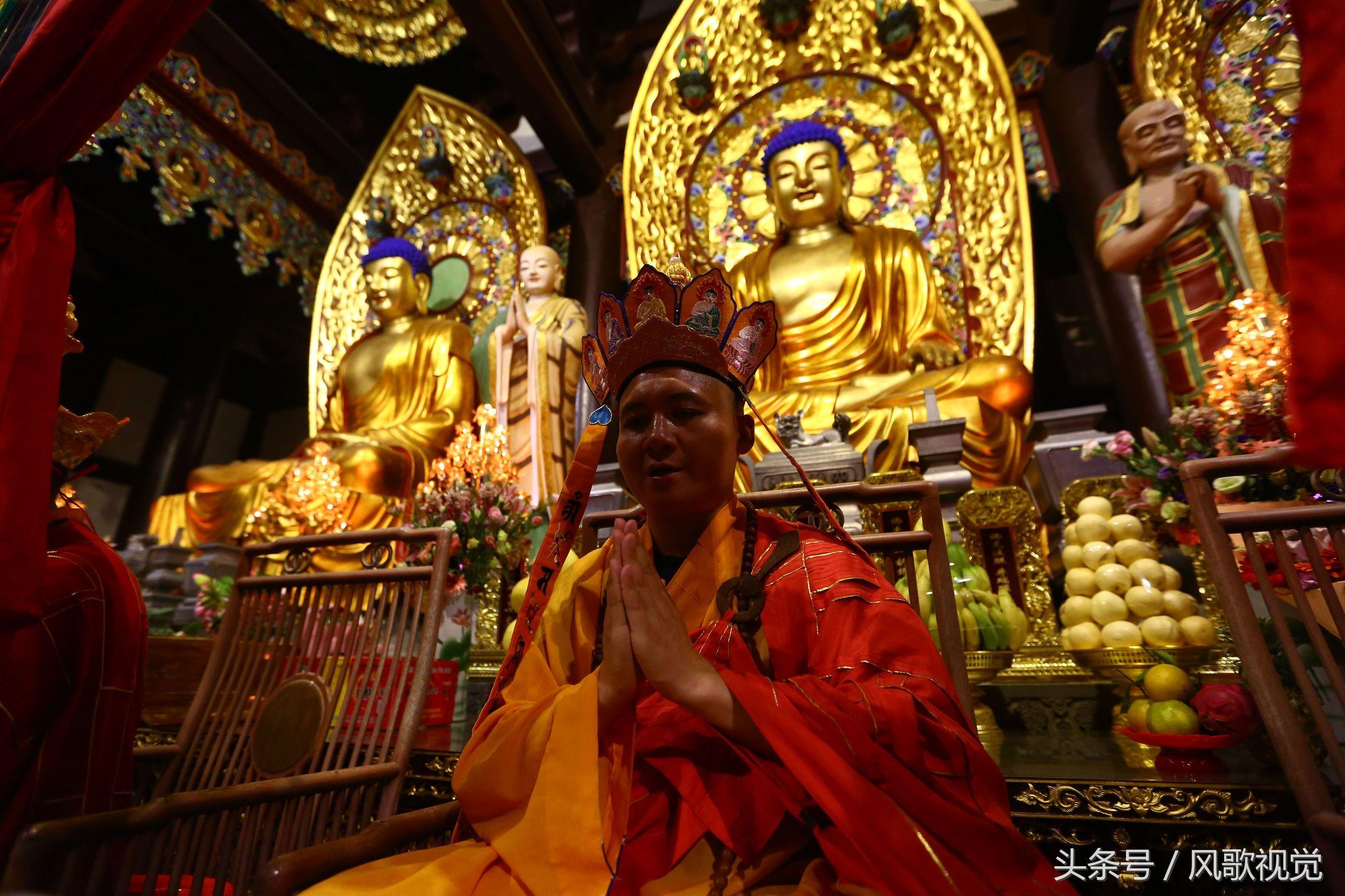 实拍三亚南山寺瑜伽焰口法会,因缘殊胜,难得的佛教体验图片