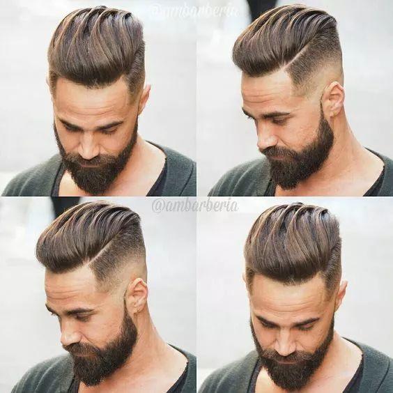 发型  all back并非油头,关于all back发型你又知道图片