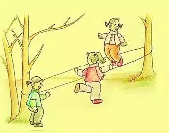 跟妈妈捉迷藏卡通图片