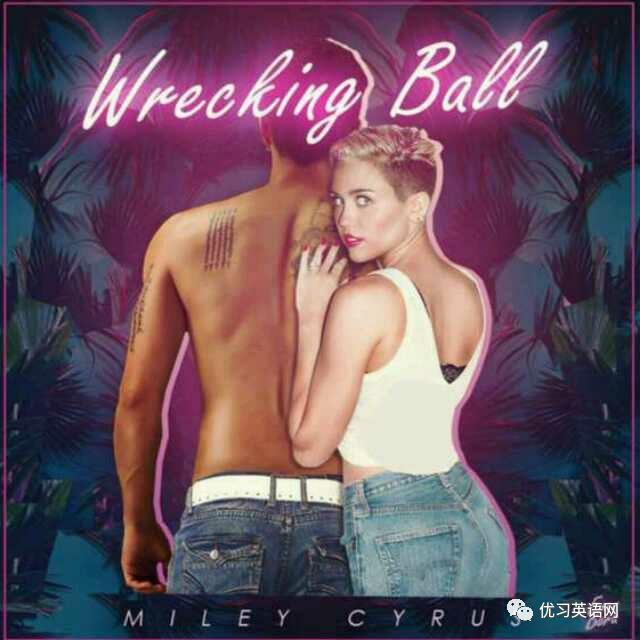 wrecking ball简谱