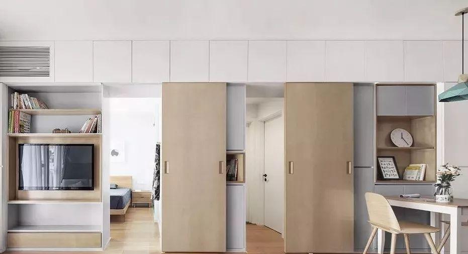 两扇衣柜柜体设计图