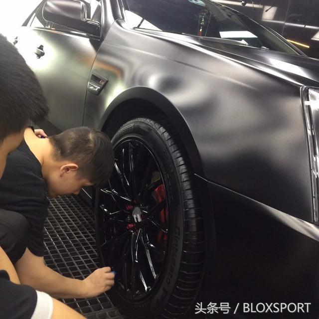 BLOX车主记-老而弥坚新人的凯迪拉克SLS赛威改装作业