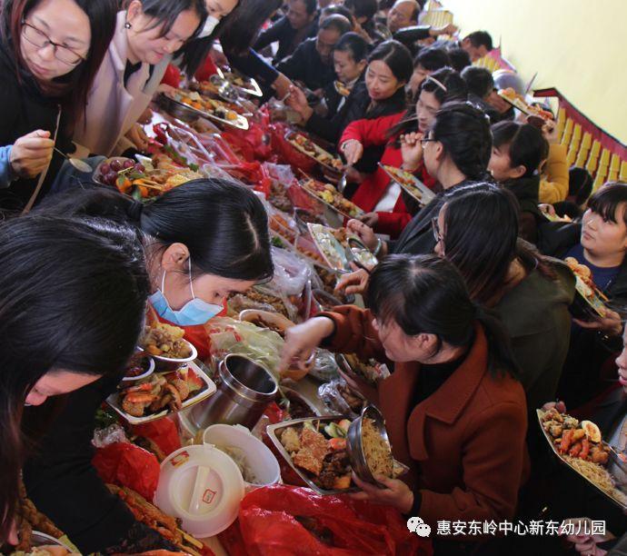 新东幼儿园 亲子美食节