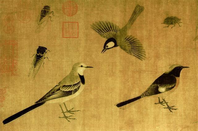 改变中国画的大师,工笔画鼻祖黄筌