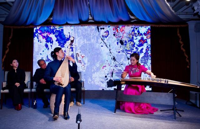《春江花月夜》 古筝演奏:陆莎莎 琵琶演奏:俞冰