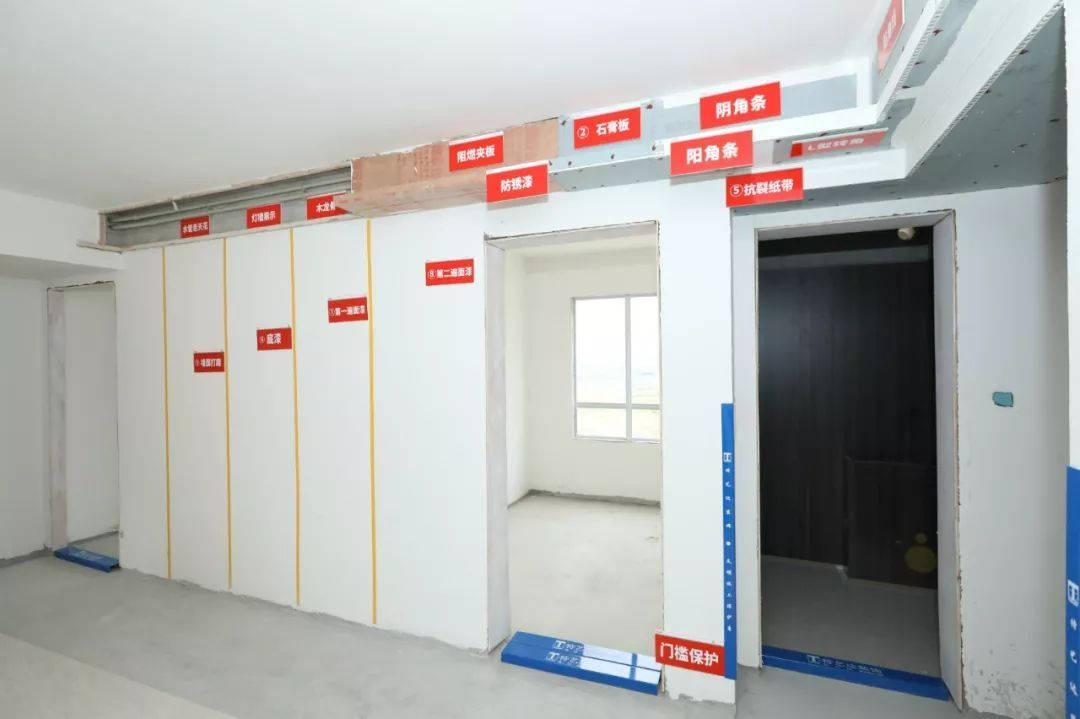 美的万科西江悦厨柜现场木材展示图实木工艺哪种项目好图片