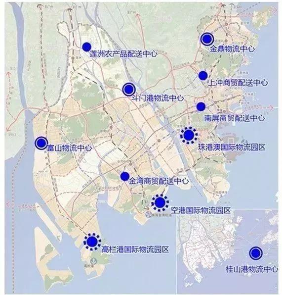 珠海最新铁路规划 或成为大湾区最大交通枢纽