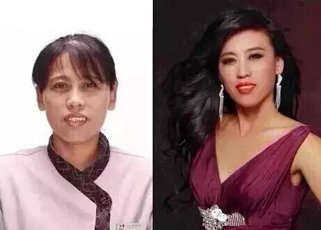女人做美容与不做美容的差