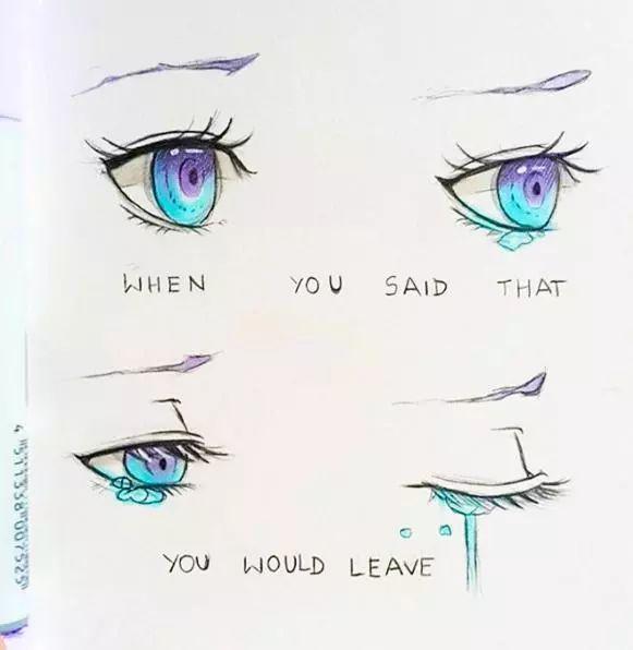 不会马克笔画眼睛 这组配色星空般好看,美到爆