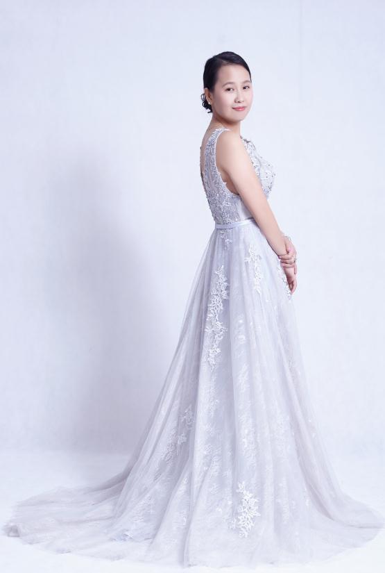 专访中国服装设计师:郑雪义Blue lotus