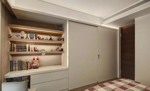 设计|卧室衣柜 电视柜组合设计,空间大了10㎡不止!