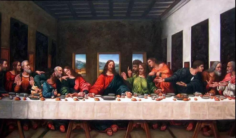达芬奇《最后的晚餐》,420x910